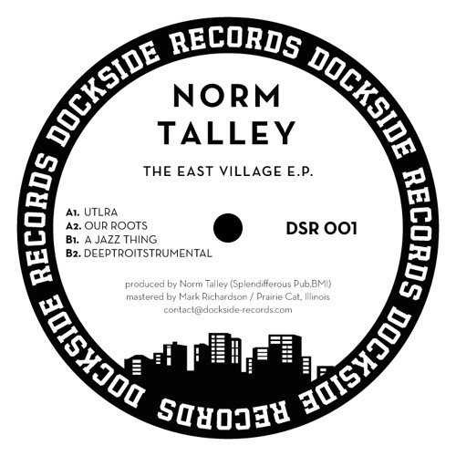 DSR001 Norm Talley - The East Village E.P.