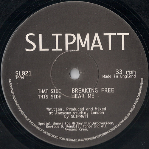 Slipmatt - Breaking Free