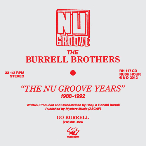 The Burrell Brothers Nu Groove mix by Gerd Janson