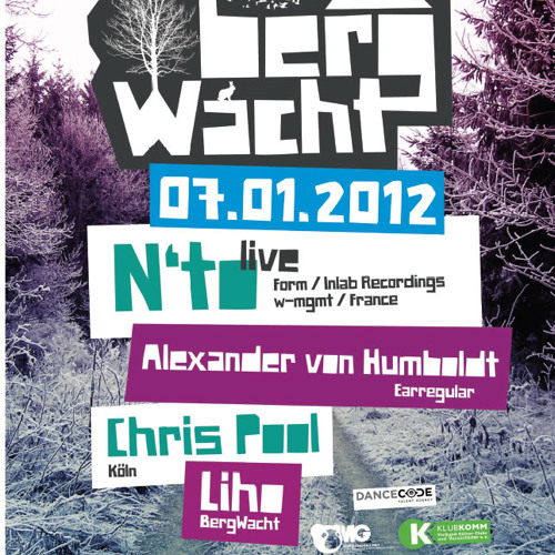 N'to Live @ BergWacht Artheater Cologne 07.01.2012