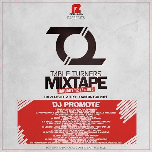 #003 Rapzilla - TableTurners Mixtape - DJ PROMOTE