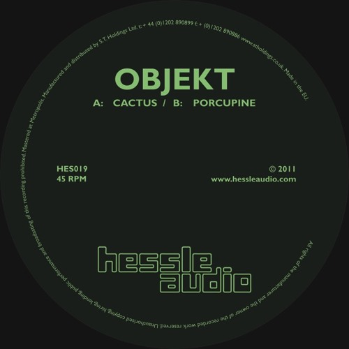 Objekt - Cactus [HES 019]
