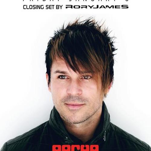 RoryJames Live @ Pacha NYC (CLOSING SET for BT) 1/6/2012