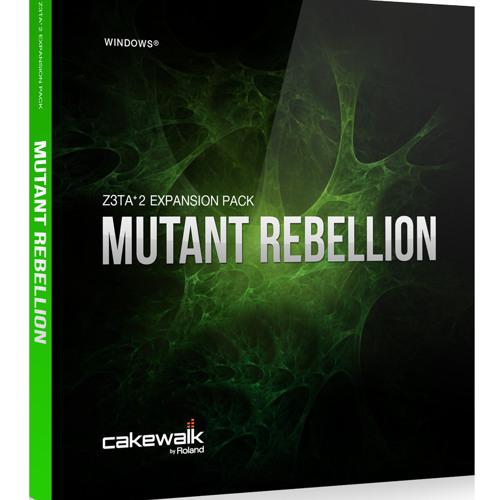 MUTANT REBELLION Cakewalk Z3ta-2 Preset Library Demo by