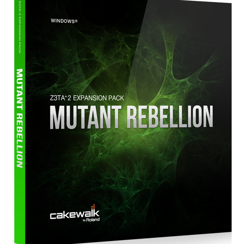 MUTANT REBELLION Cakewalk Z3ta-2 Preset Library Demo 2 / Track Preview