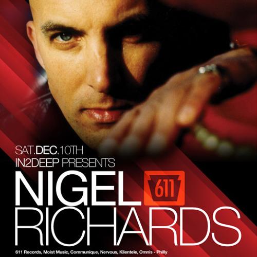 DJ Nigel Richards, Live Tech House in Denver, December 10, 2011