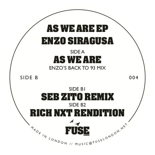 As We Are - Seb Zito Remix