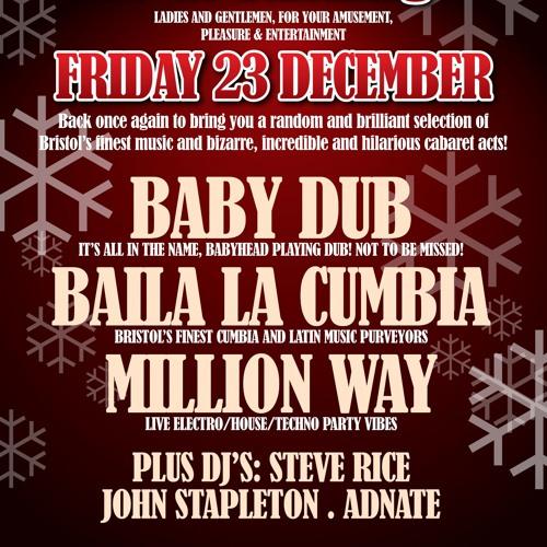 Adnate's Funky Friday Fam-Jam #7 @ Gogo Fandango (Set 2) - Attic Bar, Bristol (23.12.11)