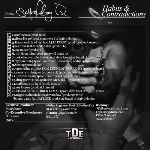 ScHoolboy Q - Groovline Pt. 1 Feat. Dom Kennedy & Curren$y (Prod Lex Lex Luger)