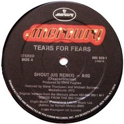Tears For Fears - Shout (Rom1 Long Techno Variation) [FREE DOWNLOAD]