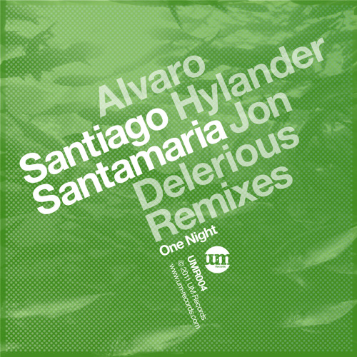 Santiago Santamaria - One Night (Alvaro Hylander Remix) *Preview
