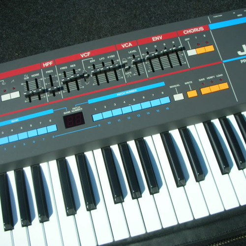 VVD - Roland Juno-106 + Korg Mono/Poly + Oberheim OB-X + Roland TR-707