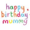 Happy Birthday Mummy!!!!!!