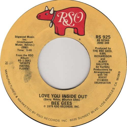"""Bee Gees """"Love You Inside Out"""" (Beaten Space Probe Edit //MOYO*RECUT)"""
