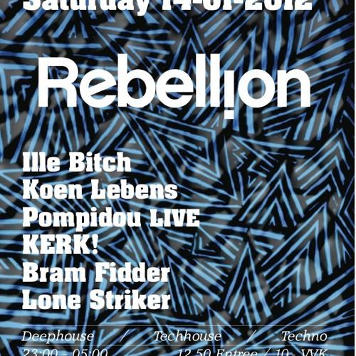 Bram Fidder @ Rebellion | Studio 80 (14.01.2012)