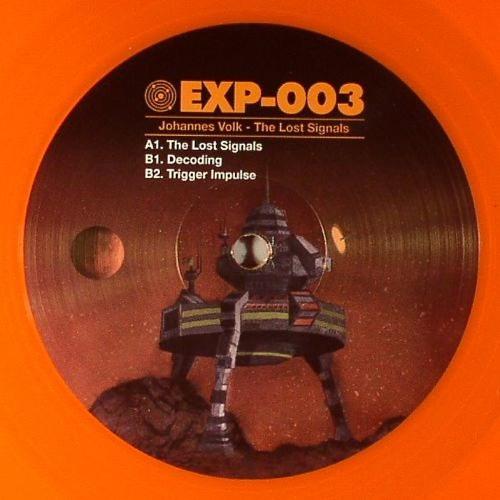 Johannes Volk - The Lost Signals - EXP-003