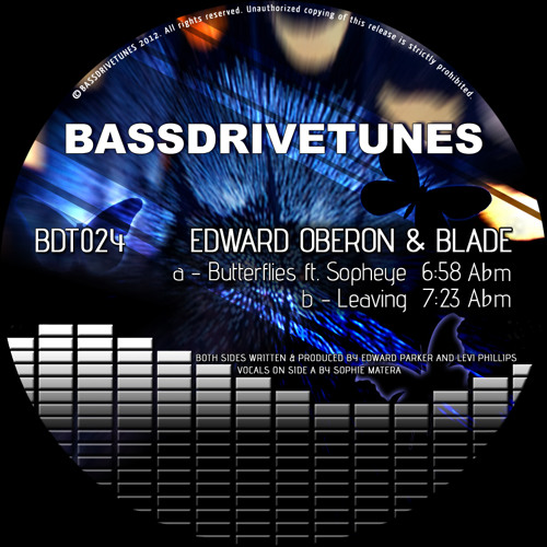Edward Oberon & Blade feat Sopheye - Butterflies [BDT024a] preview