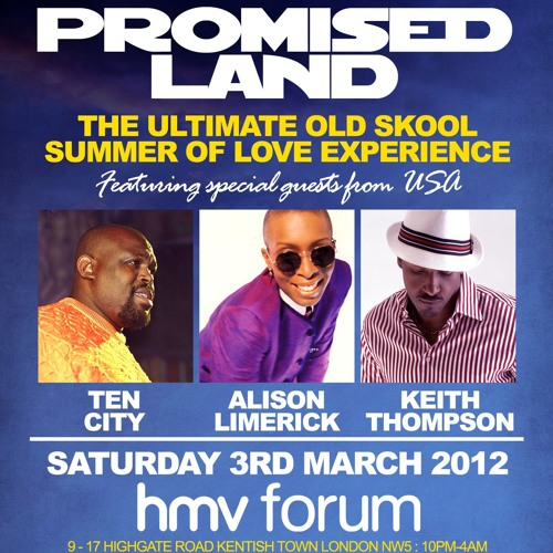 Promised Land the forum 3rd of march