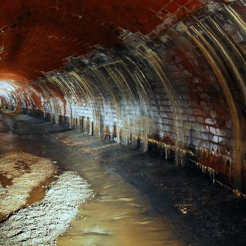 Ride the Railway in the Sewerage