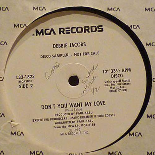 Debbie Jacobs - Don't You Want My Love - JMJ EDIT