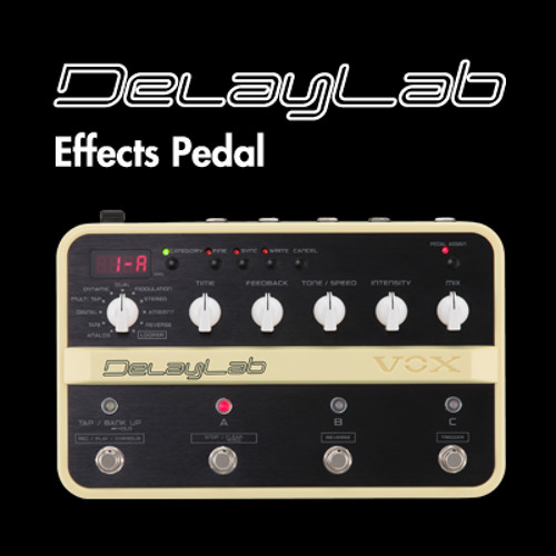 VOX DelayLab_Echo Plus Delay with Expression Pedal