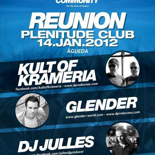Glender LIVE @ TRIBAL COMMUNITY Plenitude Club - Águeda, Portugal (Free Download)