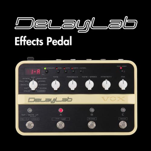 VOX DelayLab Sound Sample