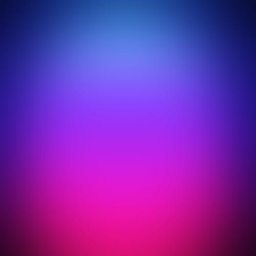 Synthétique bleu, mauve, rose