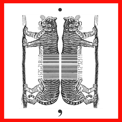 DOUBLE TIGER BARCODE by Gary Barwin