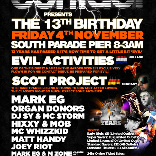 Scot Project @ Contact 13th Birthday ( Free Downloads @ www.facebook.com/contactevents )