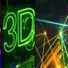 "SABADO 21... "" LASER FEST MULTICOLOR 3D "".... INDIA PUB"