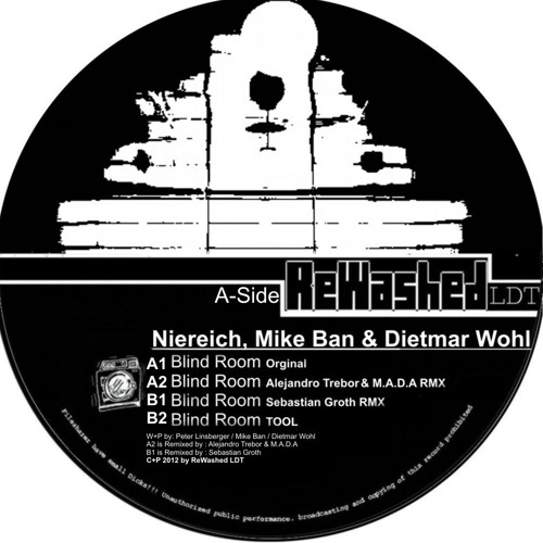 Niereich,Mike Ban & Dietmar Wohl - Blind Room (Sebastian Groth Remix) OUT NOW on by ReWashed LDT