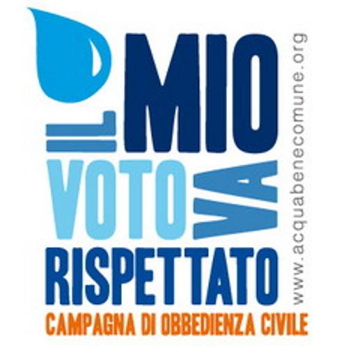 Audio dal presidio contro lo scippo della vittoria referendaria del 12 e 13 giugno