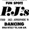 Junior Jet Club - Music For Pleasure - Live at PJ's (1966)