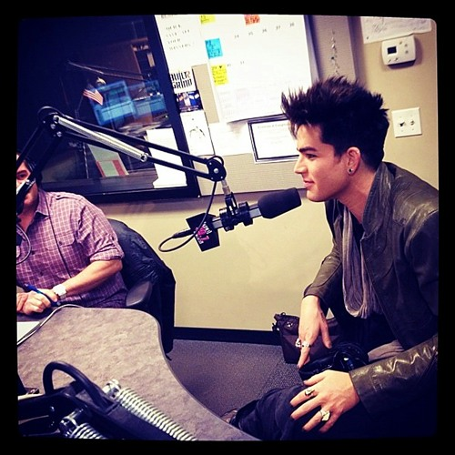 99.7 NOW SF ADAM LAMBERT Interview 1-20-12