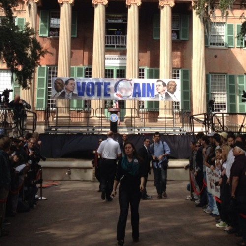 Stephen Colbert / Herman Cain Super Rally