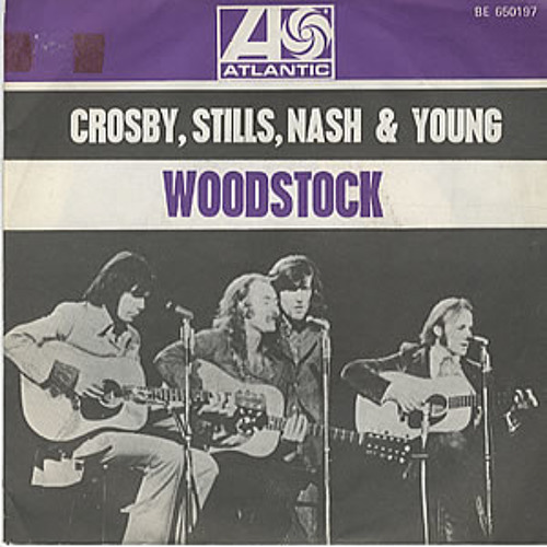 """""""Woodstock"""" - Crosby, Stills, Nash & Young (8-track tape)"""