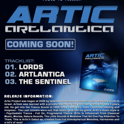 Artic - Artlantica (Ep Demo Mix 2012)