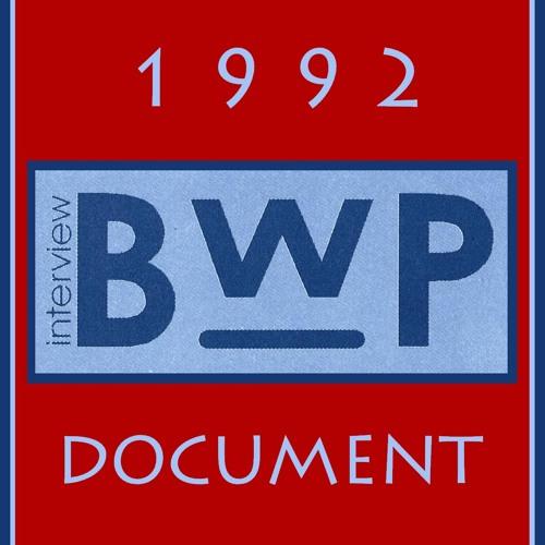 B.W.P. radio-reportage 1992 !!