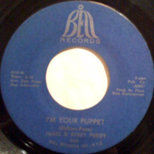 """ I'm Your Puppet"" - The Box Tops (8-track tape)"
