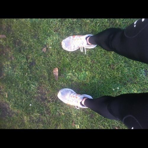 Half Mazza training at Victoria Park, London