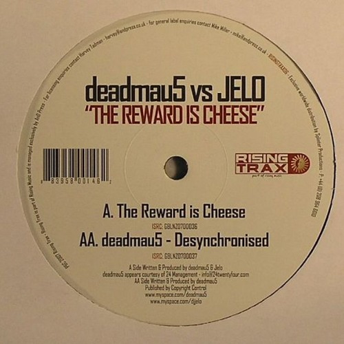deadmau5 vs JELO - The Reward Is Cheese