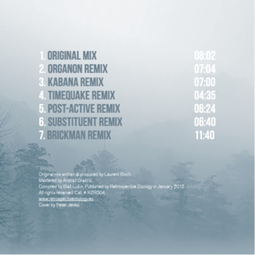 [#RZR004] Fingers in the Noise - Lost in Freezing Fog EP (Preview)