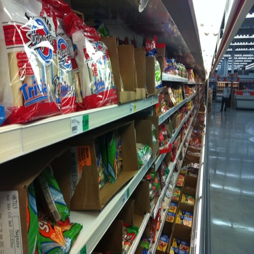 Pre trip shopping thoughts from the snack isle
