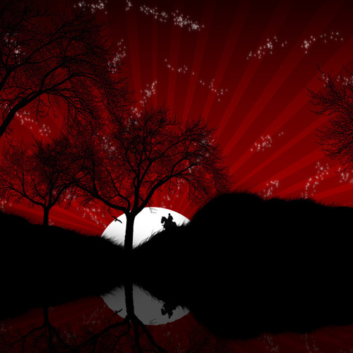 Red Silhouettes
