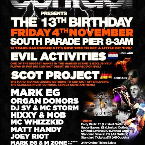 Mark EG @ Contact 13th Birthday ( Free Downloads @ www.facebook.com contactevents )