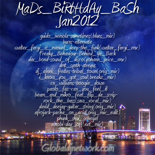 MaDs BiRtHdAy BaSh-Jan2012