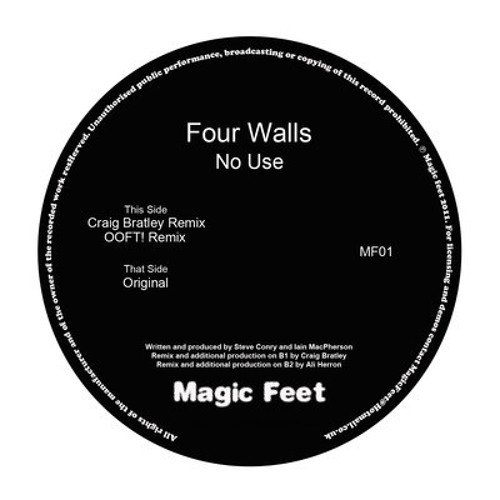 Four Walls - No Use (OOFT! Remix) 12""