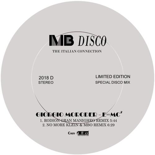 Giorgio Moroder - E=Mc2 (Rodion Gran Manigheo Remix) / (96kbps)