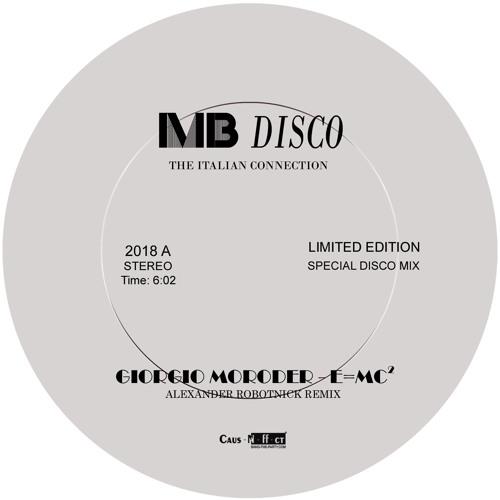 Giorgio Moroder - E=Mc2 (Alexander Robotnick Remix) / (96kbps)
